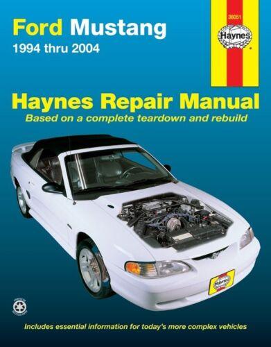 Repair Manual-SVT Cobra Haynes 36051 fits 94-95 Ford Mustang