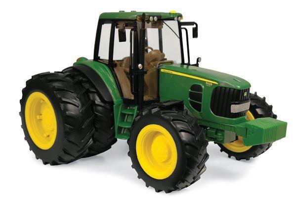 NEW John Deere Big Farm Series 7430 Tractor with Duals Lights Sounds 1 16 35633