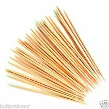 50x LEGNO Cocktail toothpicks CHERRY OLIVE BASTONI