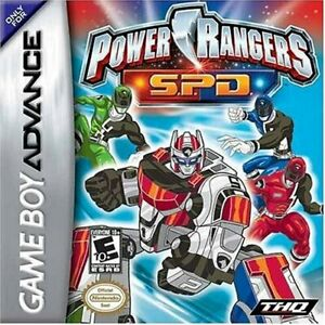 Power Rangers: Space Patrol Delta - Nintendo Game Boy Advance