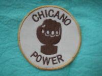 Chicano Power Viva La Raza Patch 3  X 3