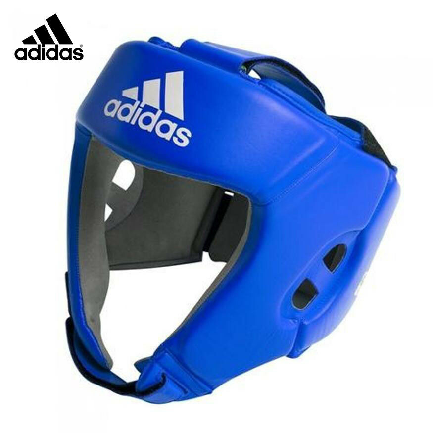 Adidas Official AIBA  Approved Head Gear 100% Leather  retail stores