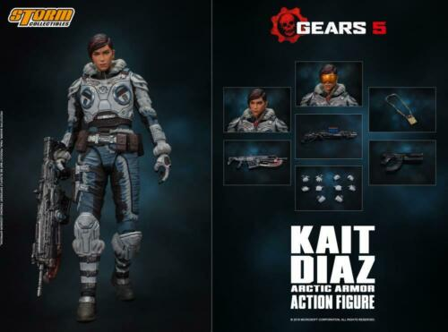 Storm Collectibles Gears of War Kait Diaz 1//12 Scale Action Figure USA Seller