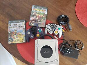 Nintendo Gamecube Console Mario Kart Double Dash Super Smash Bros Melee Bundle Ebay