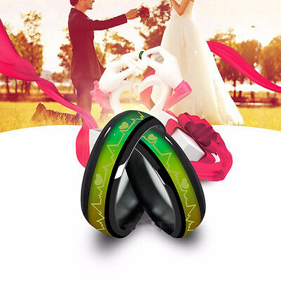 Women Men Color Changing Mood Band Temperature Emotion Feeling Couples Rings