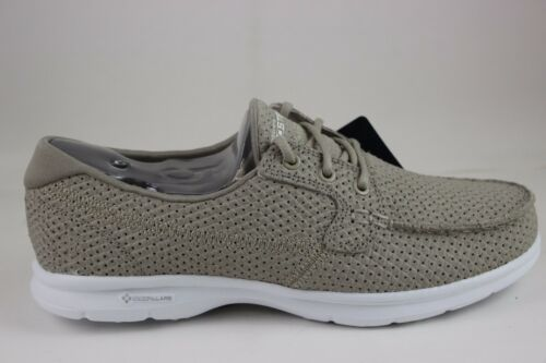 Skechers Women/'s Go Step-Keen Taupe 14422//TPE With Goga Max Foam Insole