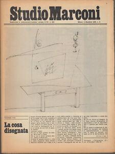 Studio Marconi 2 Dicembre 1976 n.9 Trini Vaccari Caroli Sanesi Pardi Calvesi