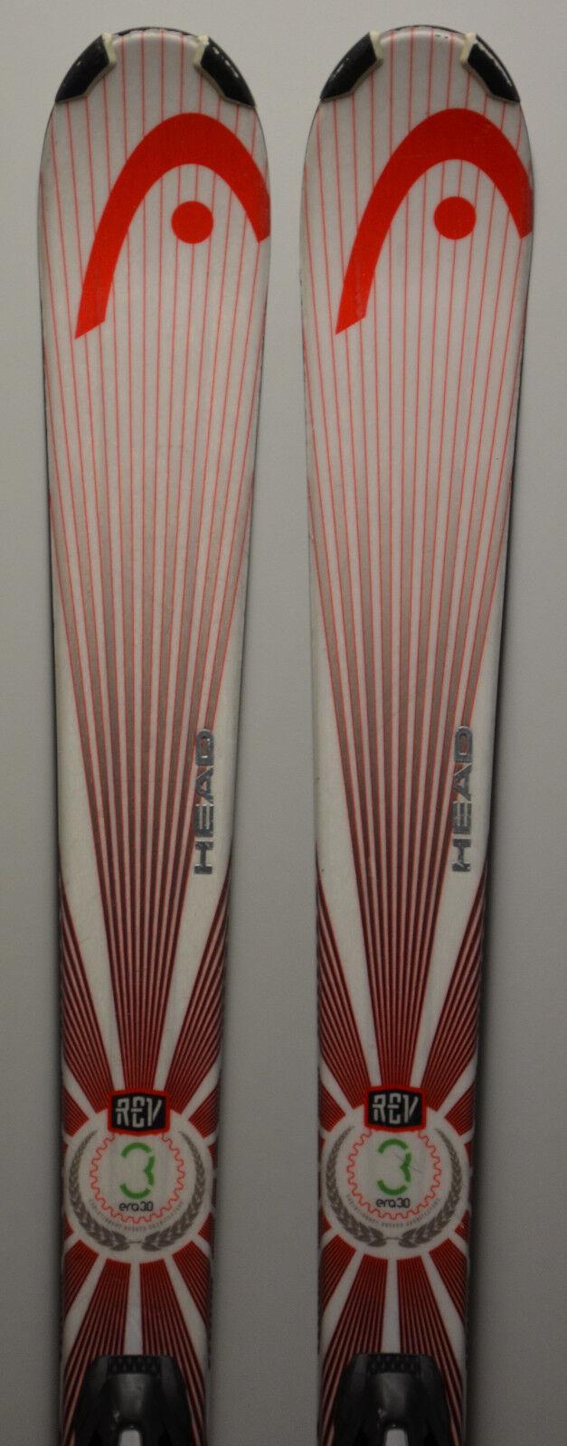 Esquís parabólico usado HEAD REV 75 - 156cm & 170cm - 2 Modelos diferentes
