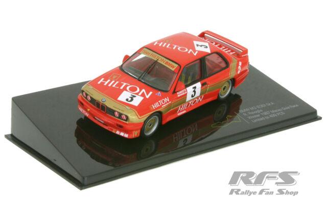 BMW M3 E30 - Gr.A - Macau Guia Race 1987 - Roberto Ravaglia - 1:43 IXO MGPC 005