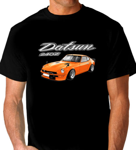 DATSUN  240Z    FAIRLADY    BLACK  TSHIRT       MEN/'S  LADIES   KID/'S  SIZES