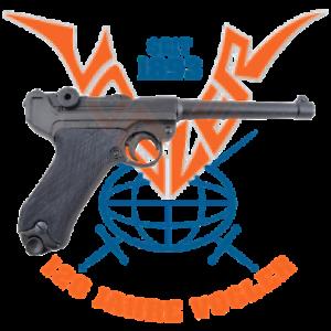 Luger-Pistole-PO8-Parabellum-mit-Magazin-VIELE-FOTOS-Originalgetreues-Modell
