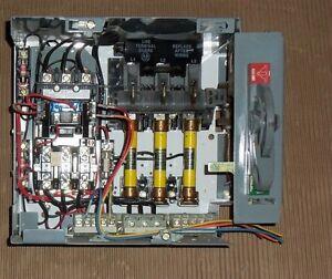 allen bradley 2100 30 amp 600v fusible size 1 motor. Black Bedroom Furniture Sets. Home Design Ideas