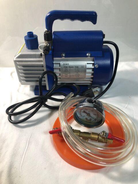 Zeny 1 Stage Vacuum Puimp Model Vp125 U981 1 For Sale
