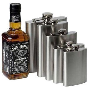 1-4-5-6-7-8-9-10-18oz-Hip-Flask-Stainless-Steel-Pocket-Drink-Whisky-Flasks