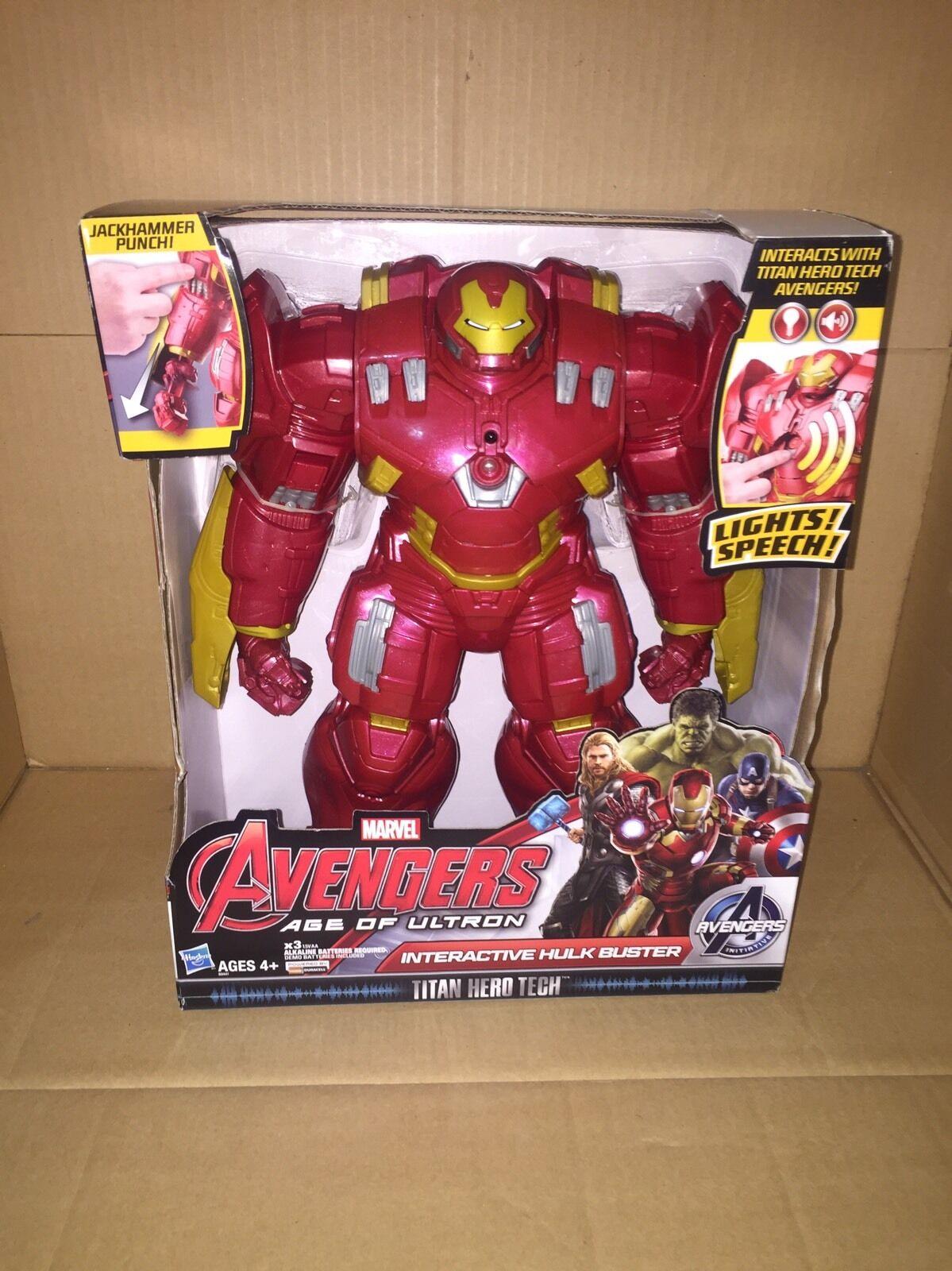 alter ultron hulk, iron man, interaktive tech titan held buster