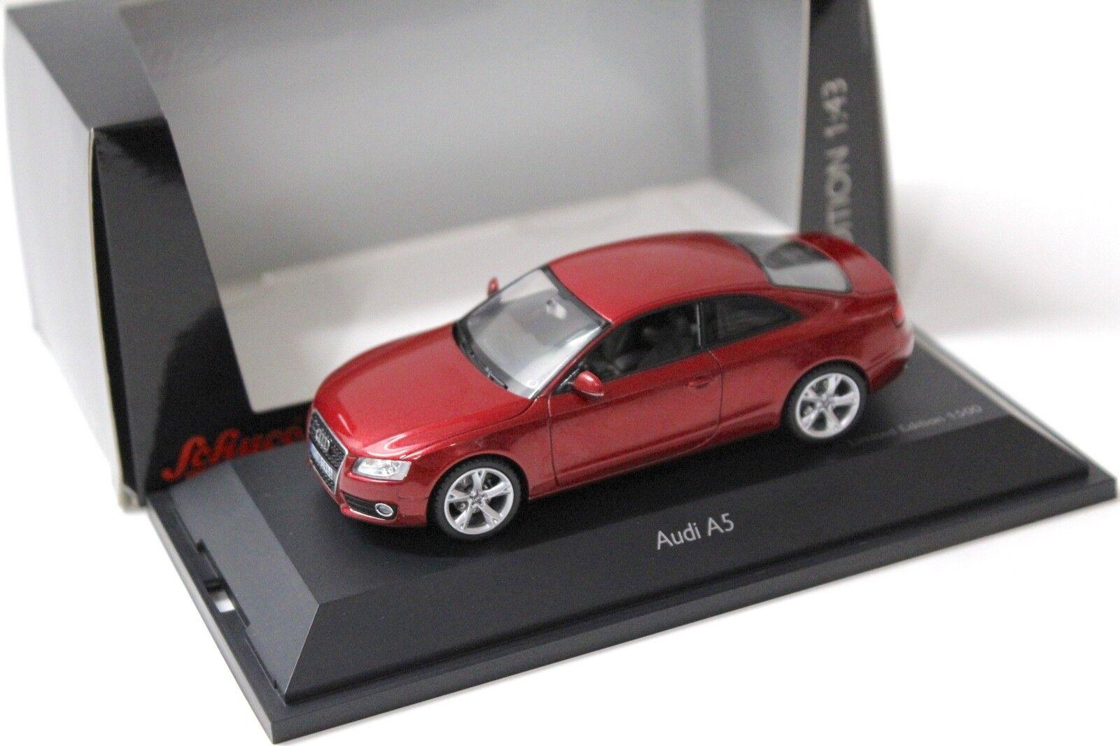1 43 Schuco audi a5 Coupé rouge New chez Premium-modelcars