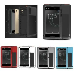 new product 3e395 a18a8 LOVE MEI Metal Waterproof Shockproof Case Cover for SONY Xperia XA1 ...