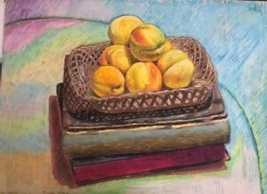 Painting by Rafael Varela, Untitled, original signed by the artist (Varela).