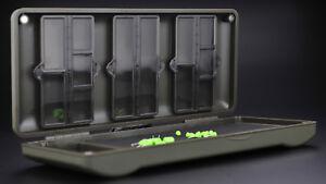 Korda-Mini-Combi-rigsafe-Rig-al-sicuro-in-plastica-Rig-Scatola-di-memorizzazione-magnetici-KBOX4
