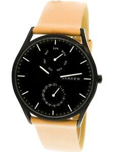 Skagen-Men-039-s-Holst-SKW6265-Tan-Leather-Japanese-Quartz-Fashion-Watch