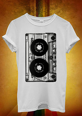 Cassette Retro Vintage Cool Hipster Men Women Unisex T Shirt Tank Top Vest 460