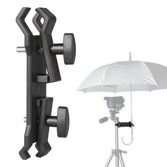 Photography Camera Lighting Umbrella Holder Clamp Clip for Tripod Light Stan SA