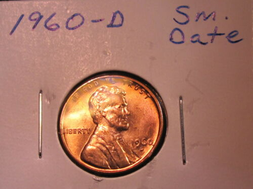 Lincoln Memorial Cent Small Date 1960 D