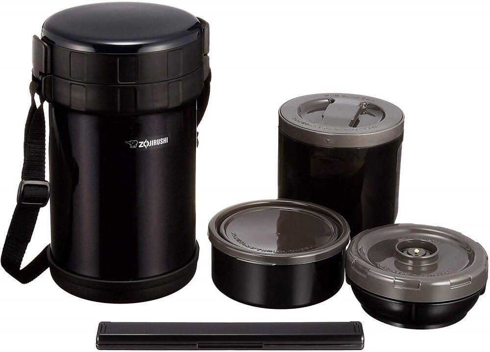 Nouveau ZOJIRUSHI chaleur Conservant Lunch Box en acier inoxydable SL-XE20-AD avec suivi