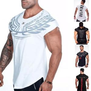 Camiseta-para-hombre-rey-Gimnasio-Fitness-Carga-Palangre-Camiseta-disenador-Curvo-Entrenamiento-Top