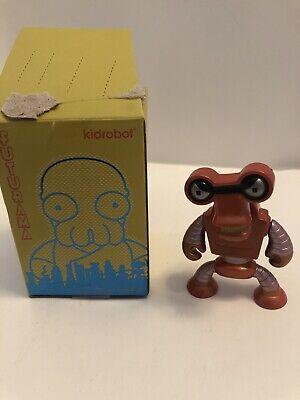 "Kidrobot FUTURAMA UNIVERSE X Mini Series ROBERTO 3/"" Vinyl Figure Open Blind Box"