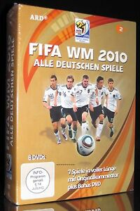 DVD FIFA WM 2010 AFRIKA - ALLE DEUTSCHEN SPIELE (Argentinien, Spanien, Uruguay)