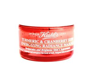 KIEHL-039-S-Turmeric-amp-Cranberry-Seed-MASK-95-Oz-Travel-Sz-NEW-FREE-SAME-DAY-SHIP
