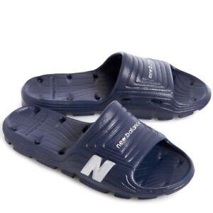 3b517b138da07 Image is loading New-Balance-NAVY-Float-Slide-Mens-Lightweight-Sandals-