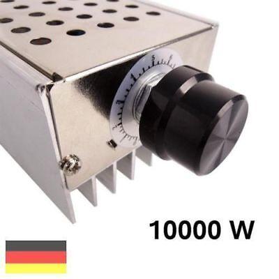 230v Drehzahlregler F. E-motor Temperaturregler Leistungsregler Spannungsregler Ein Kunststoffkoffer Ist FüR Die Sichere Lagerung Kompartimentiert