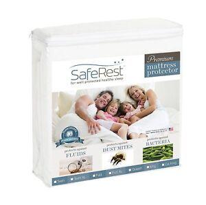 Buy Saferest Premium Hypoallergenic Waterproof Mattress Protector