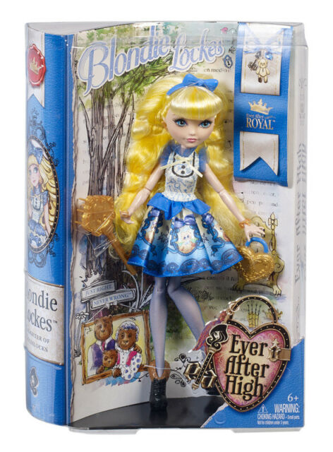 NEW EVER AFTER HIGH ROYAL BLONDIE LOCKES BBD54 DAUGHTER OF GOLDILOCKS