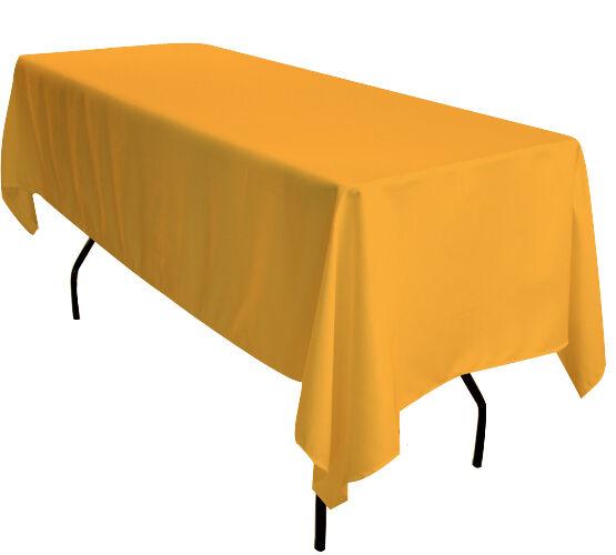 5x Or 90 x132  rectangulaire 6 ft (environ 1.83 m) Chevalet de table nappes Exposition