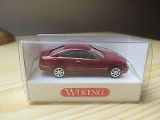 Wiking 1//87 Nr 221 04 28 Mercedes Benz CLK silbermetallic OVP #3982