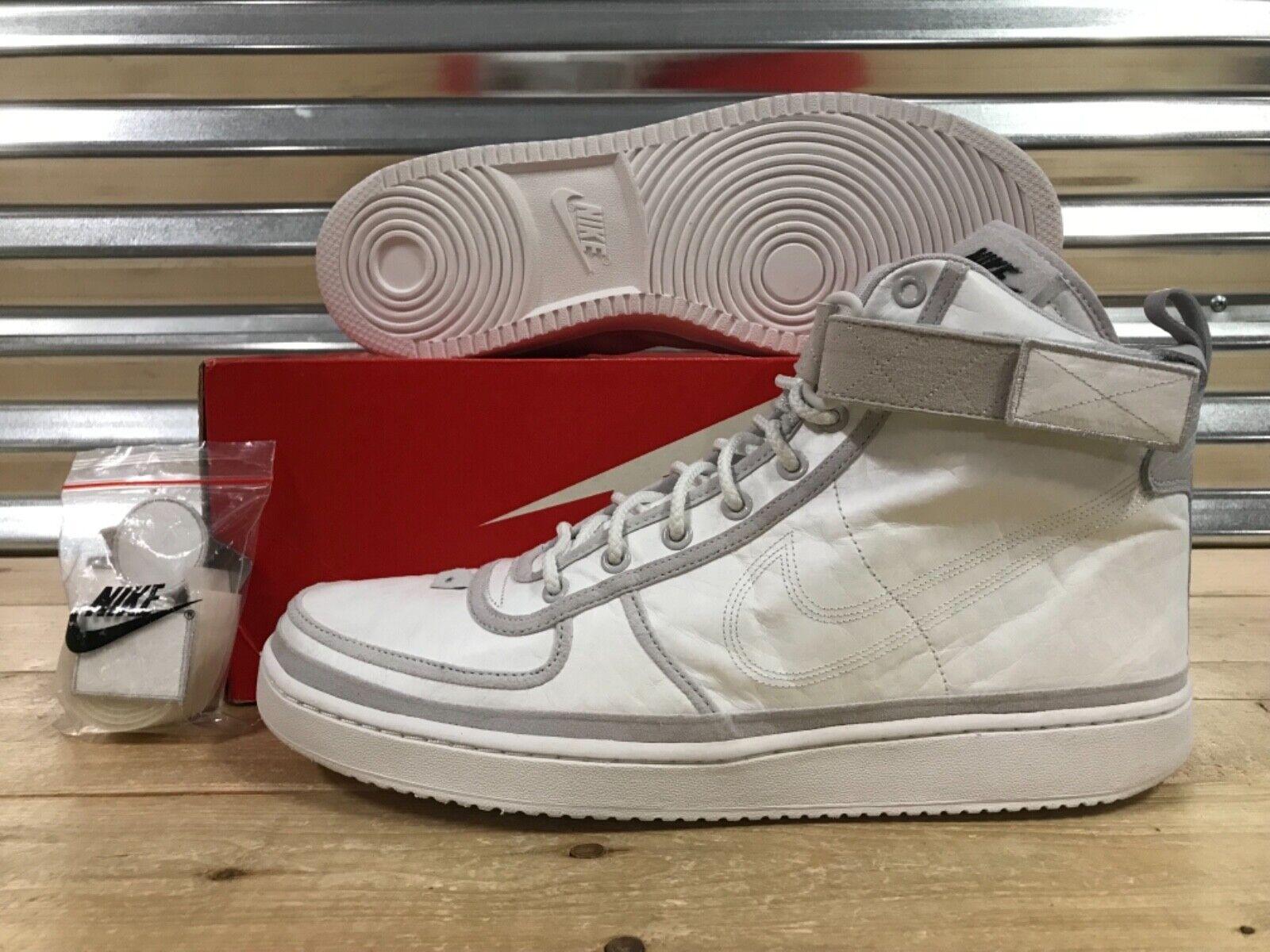 Nike Vandal High Supreme All Star QS shoes Vast Grey White SZ ( AQ0113-001 )