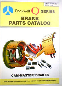ROCKWELL-International-Automotive-Brake-Parts-Catalog-ASBESTOS-DUST-WARNING-1978