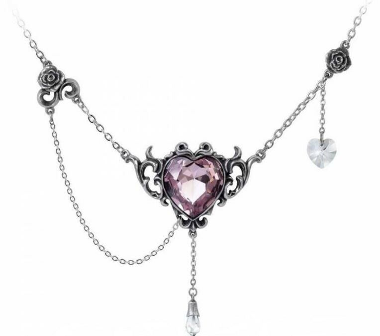 Alchemy - Countess Kamila - Pewter & Swarovski - Pendant & Chain