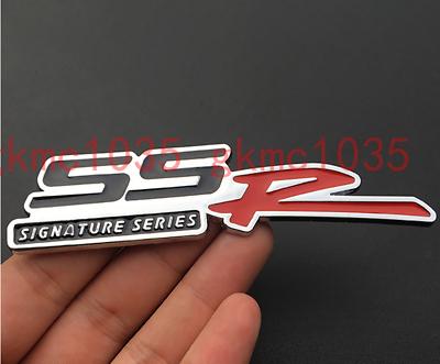 2X 3D Aluminum Emblem Badge Sticker Decal FIT Chevrolet SSR Aveo Impala Corvette