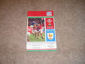 Wales v France Saturday 19th February 1994 Official Programme - <span itemprop=availableAtOrFrom>Cardiff, United Kingdom</span> - Wales v France Saturday 19th February 1994 Official Programme - Cardiff, United Kingdom