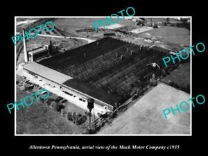 OLD-LARGE-HISTORIC-PHOTO-OF-ALLENTOWN-PENNSYLVANIA-THE-MACK-MOTOR-Co-c1935
