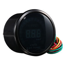 "2"" 52mm HOTSYSTEM Digital 20 LED Exhaust Gas Temperature Gauge EGT +Sensor #7031"
