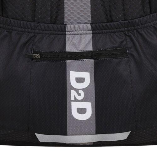 D2D Pmax Homme Grande Taille à manches courtes maillot de cyclisme