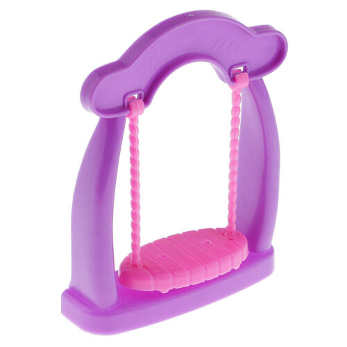Cute Designed Mini Swing Rocking Horse Dolls Furniture for Baby Room