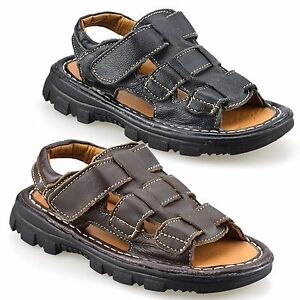 Boys-Kids-Infants-Summer-Casual-Touch-Strap-Walking-Sports-Sandals-Shoes-Size