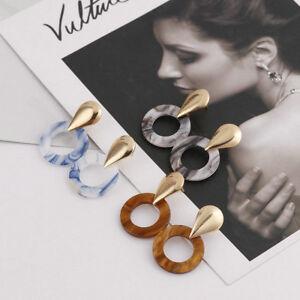 Acrylic-Geometric-Long-Drop-Dangle-Earrings-Women-Party-Fashion-Gift-Jewelry