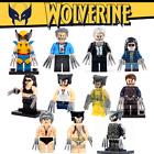 WOLVERINE X-MEN X-23 WEAPON X OLD LOGAN SUPER HEROES CUSTOM LEGO MARVEL COMICS